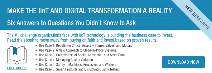 IIoT Use Cases eBook: Make the IIoT and Digital Transformation a Reality