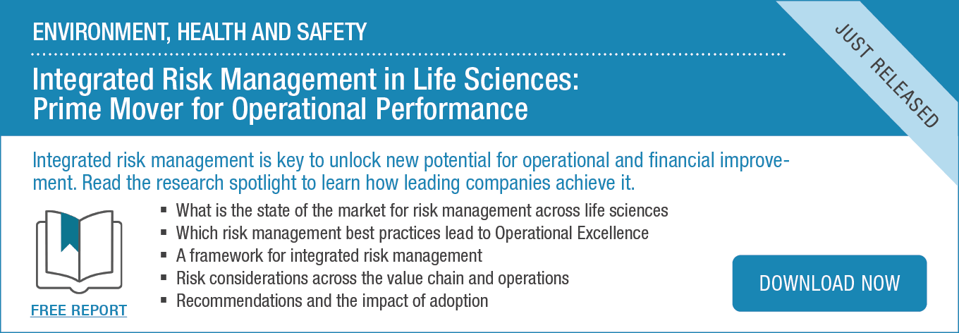 Spotlight: Integrated Risk Management in Life Sciences: Prime Mover for Operational Performance