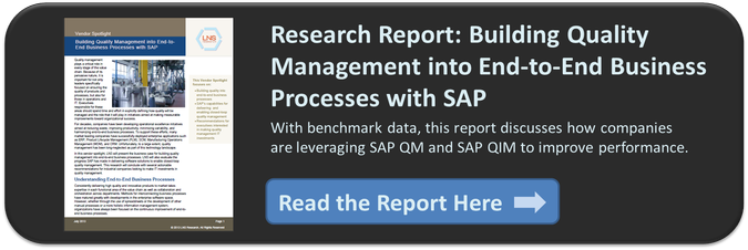 SAP Quality Management
