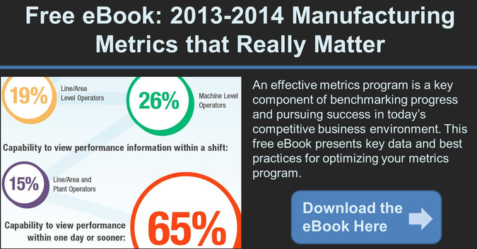 manufacturing metrics that really matter