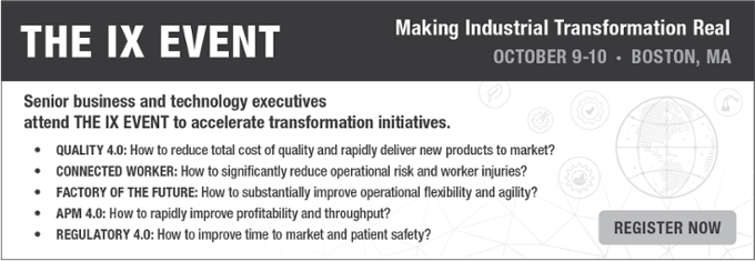 The IX Event   Making Industrial Transformation Real