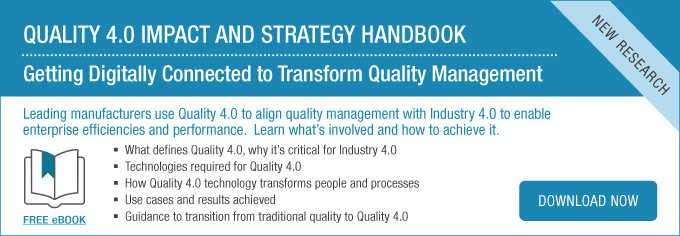 [eBook] Quality 4.0 Impact and Strategy Handbook