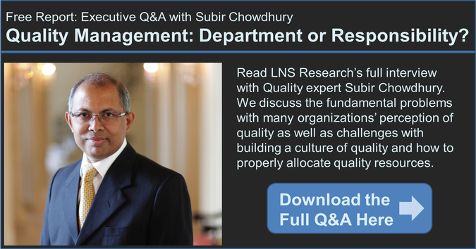 executive interview with subir chowdhury