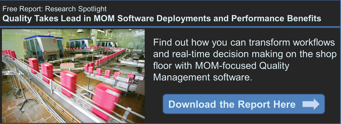 MOM-Focused Quality Management Software