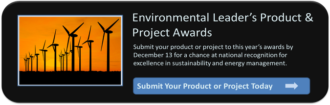Environmental Leader Product & Project Awards