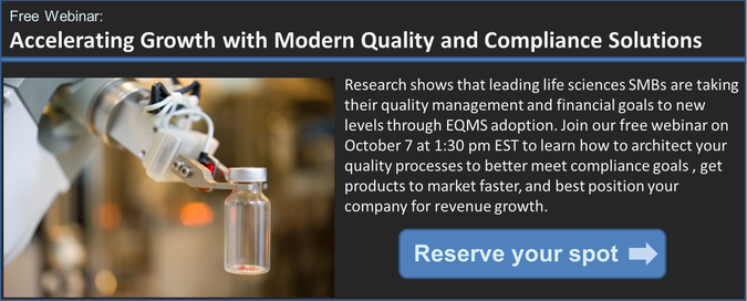 Quality Management Life Sciences SMB