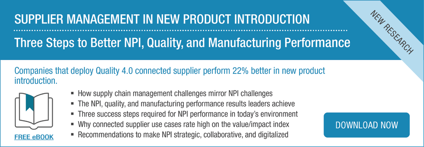 Ebook | Supplier Management in New Product Introduction