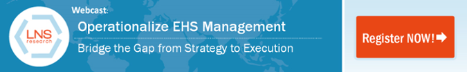 Webcast: Operationalize EHS Management