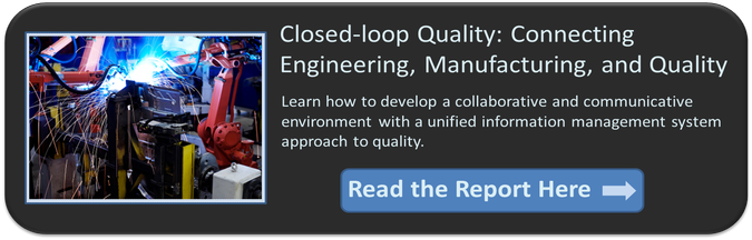 Closed loop quality management processes