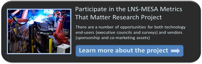 Metrics that Matter Research Study