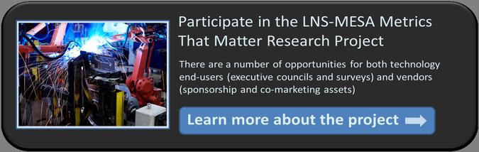 Metrics that Matter Research Study