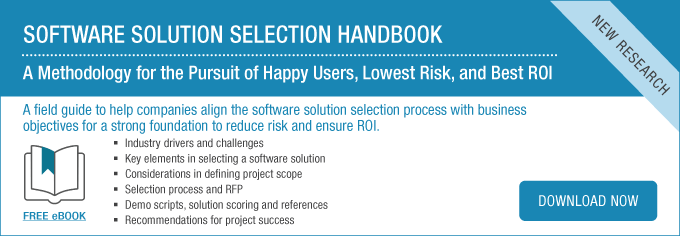 Software Solution Selection Handbook