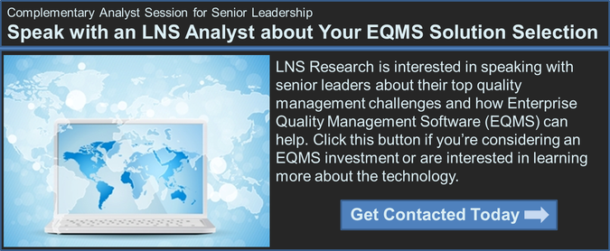 quality management solution selection