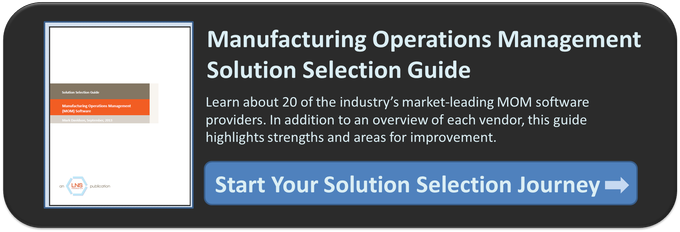 manufacturing operations software comparison guide