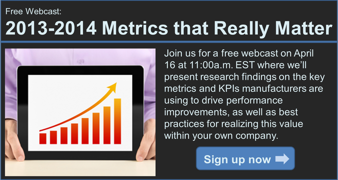 LNS Research Metrics that Matter webcast
