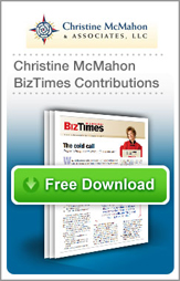 Sales Training Information, Christine McMahon BizTimes