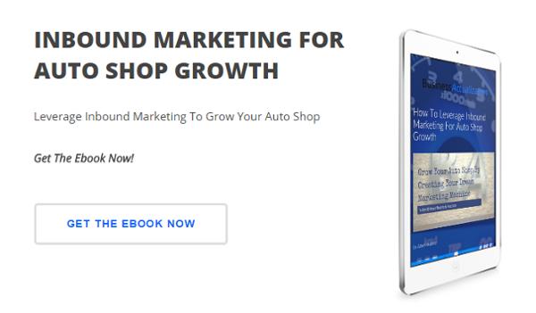 Ebook - Inbound Marketing For Auto Shop Growth