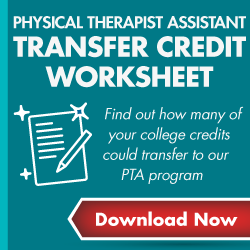 PTA Transfer Credit Worksheet - Download Now Graphic