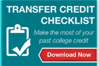 transfer credit checklist