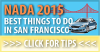 NADA 2015 Things To Do In San Francisco, auto dealer, auto repair