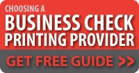 Choosing a Business Check Printing Provider