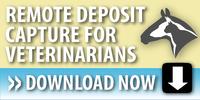 remote deposit capture, veterinarians, RDC