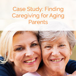 finding caregivers for aging parents
