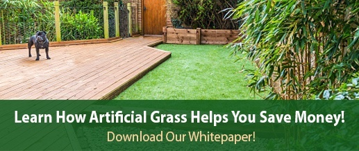 Learn how artificial grass saves money.