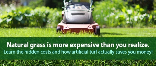 Learn how artificial grass saves money