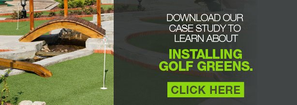 putting green artificial turf case study