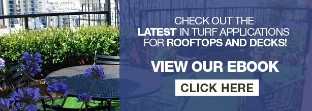 artificial turf for rooftops, decks, and patios