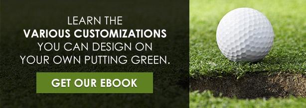 Create an artificial putting green