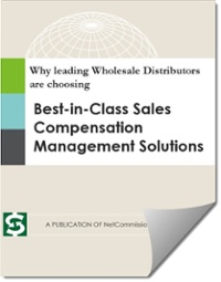 Download your free eBook: Why leading Wholesale Distributors are choosing Best-in-Class Sales Compensation Management Solutions.