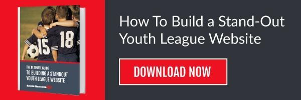 how to build a stand-out-youth-league-website