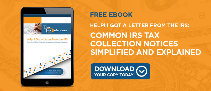 IRS Collection Letters