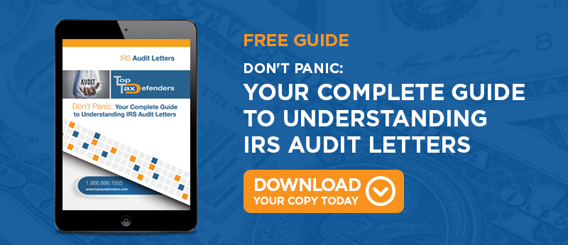 irs audit letters