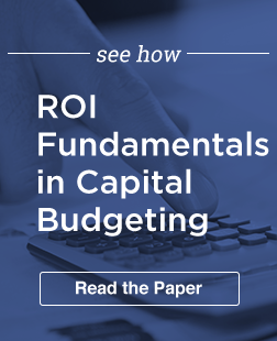 ROI Capital Budgeting 2