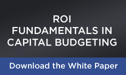 ROI Capital Budgeting 6