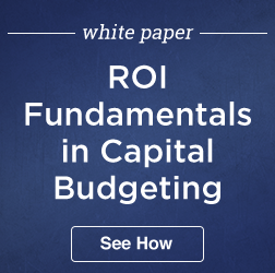 ROI Capital Budgeting 3