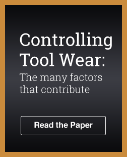 Controlling Tool Wear 1