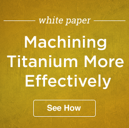 Machining Titanium Effectively 3