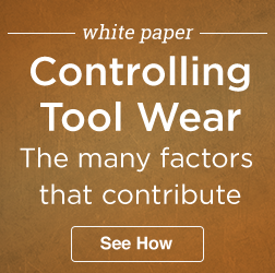 Controlling Tool Wear 3