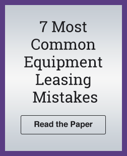 The 7 Most Common Equipment Leasing Mistakes 1
