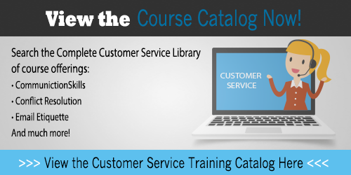 View the Customer Service Training Catalog Here!