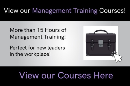 View our Management Training Courses online!