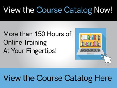 View the Course Catalog Now!