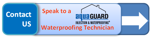 Hyperlink to a contact page for basement waterproofing