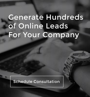 Generate Hundreds of Online Leads For Your Company