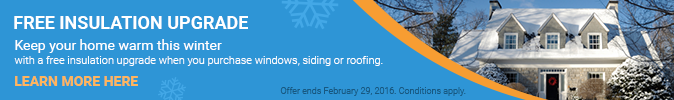 Request For A Free Insulation Upgrade for Fall-Winter 2015