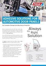 Automotive Tapes- door applications
